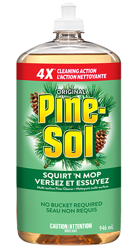 Pine Sol 174 Squirt N Mop Same Clean No Bucket Required